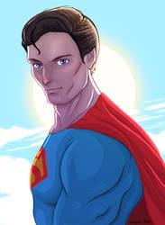 SUPERMAN by ArkadeBurt