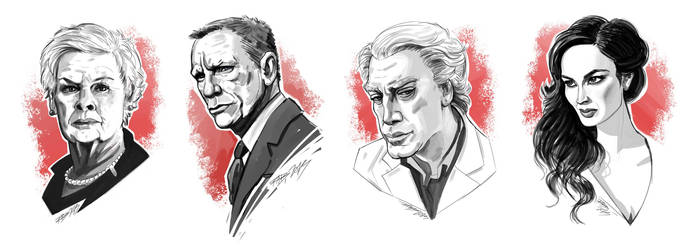 SKYFALL SKETCHES