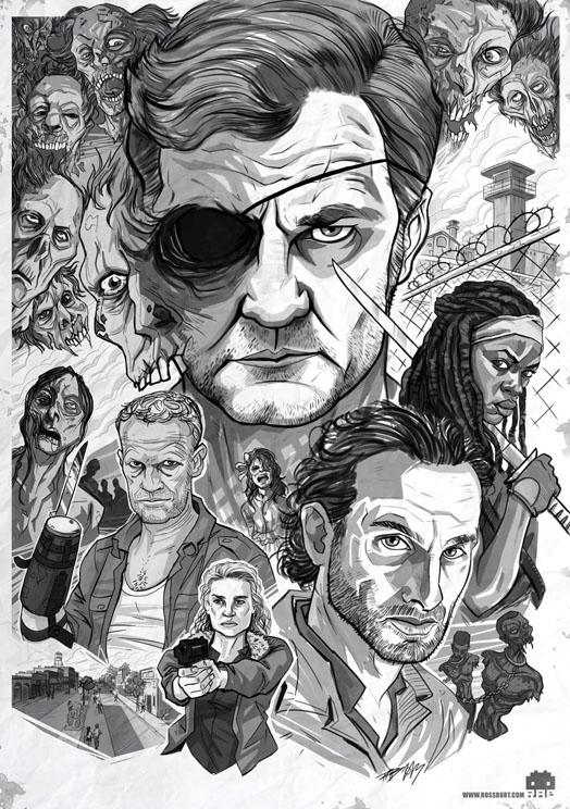Walking Dead Season 3 by ArkadeBurt