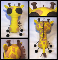 Giraffe Contest Entry by plushrooms