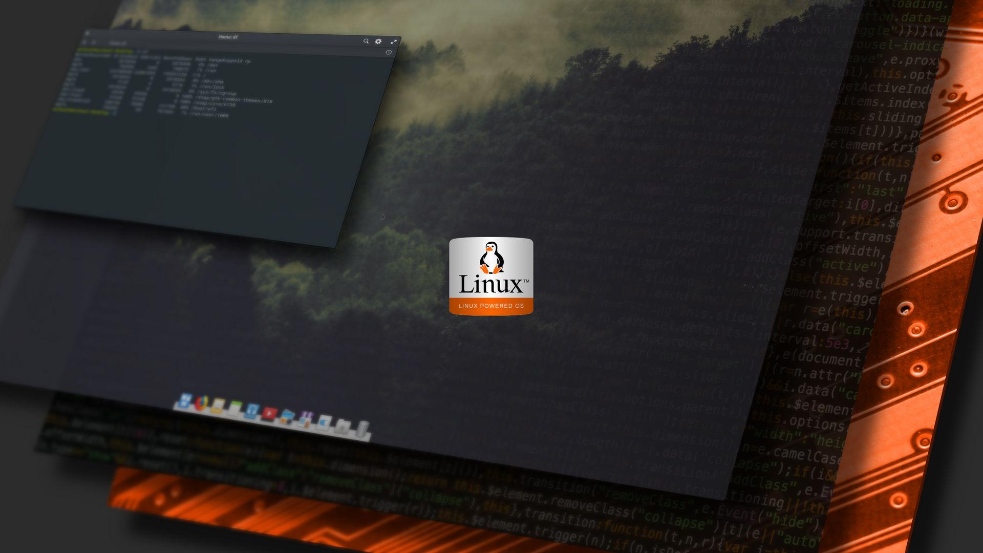Linux wallpaper six by Zonline on DeviantArt