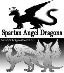 Spartan Angel Dragons [new furry species] ???