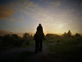 RDR2- West Bound by Shocker-the-StormCat