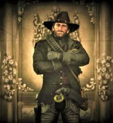 RDR2- My favorite Cowboy by Shocker-the-StormCat