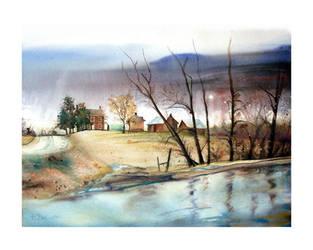 Old Eden Prairie Farm by richardcgreen