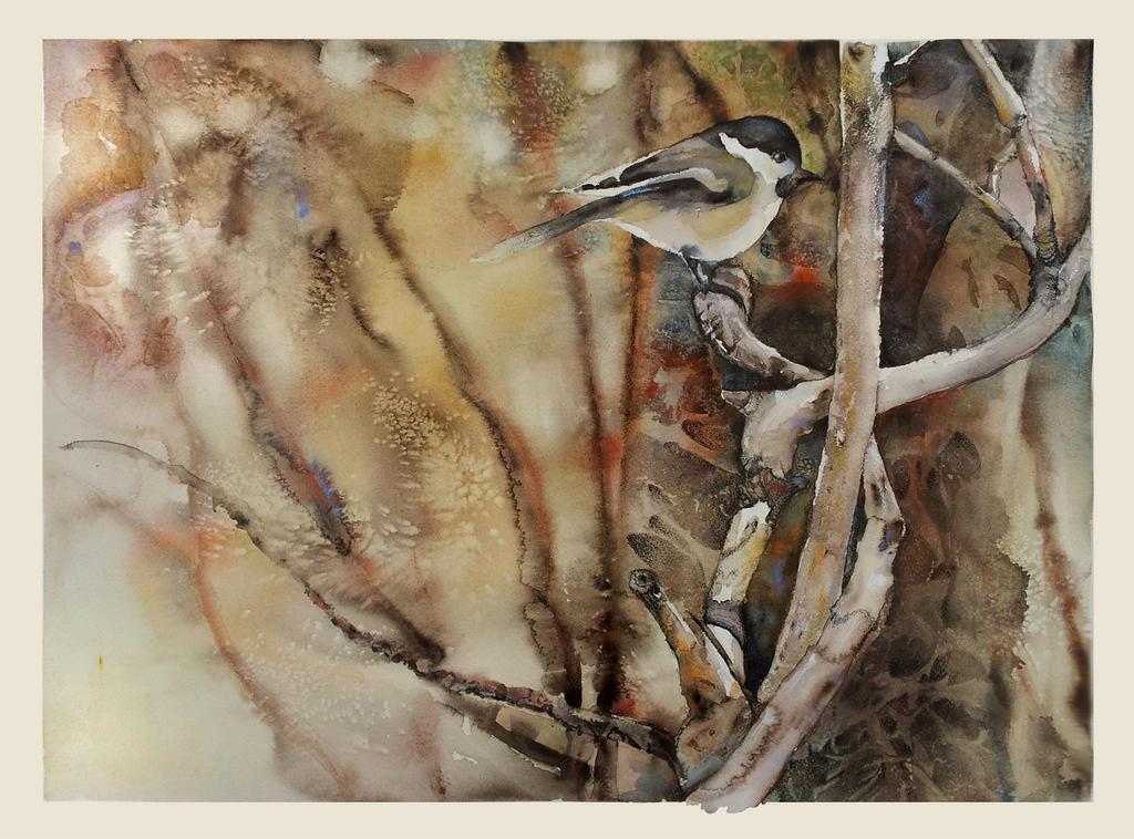My Little Chickadee by richardcgreen