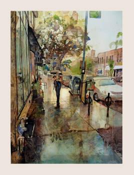 Rainy Day on Grand