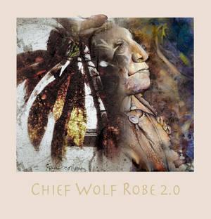 Chief Wolf Robe 2.0 by richardcgreen