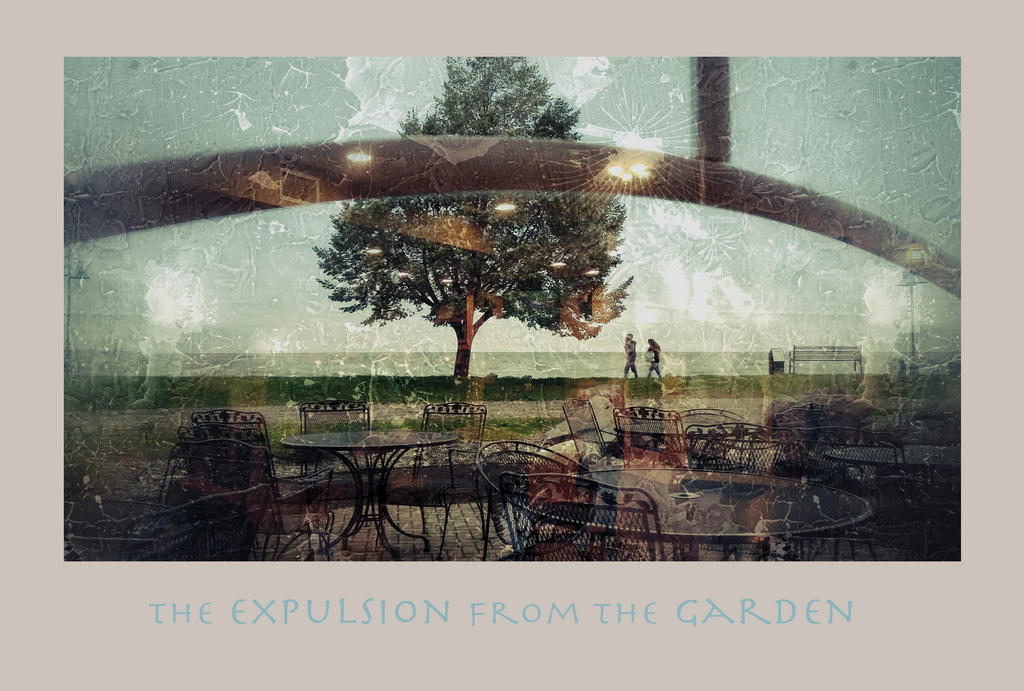 The Expusion from the Garden by richardcgreen