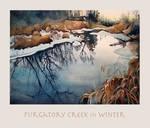 Purgatory Creek in Winter