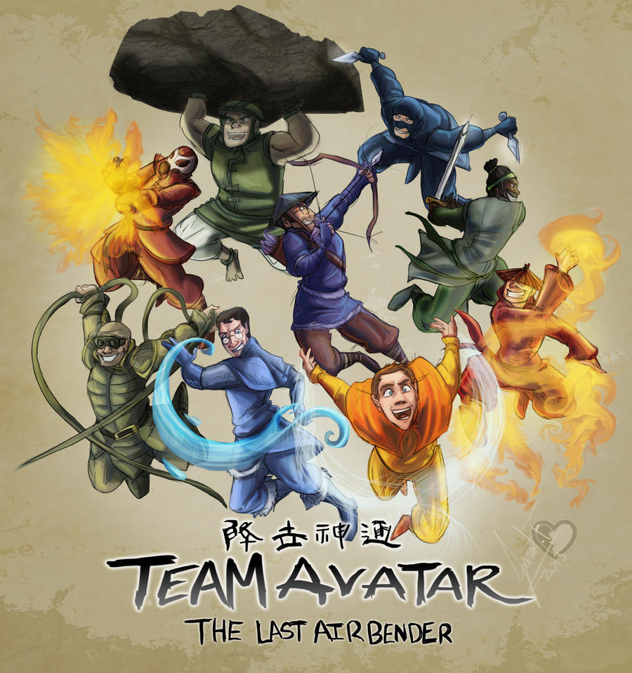 1 Avatar: Team Avatar By MadJesters1 On DeviantArt