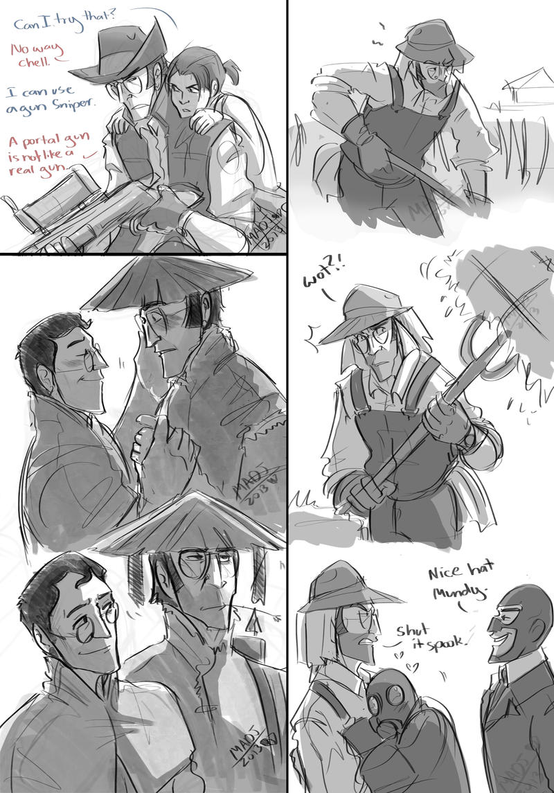 TF2- Doodles by MadJesters1