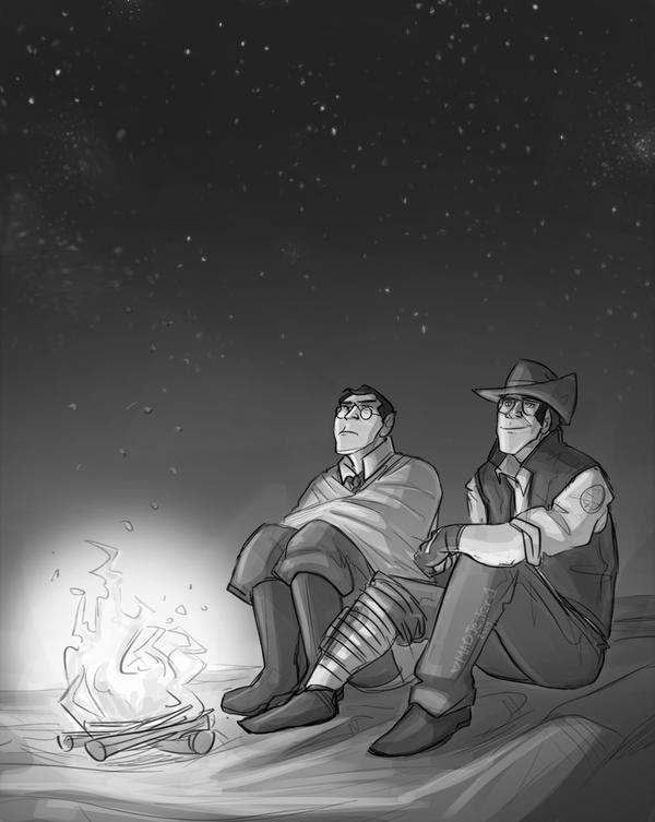 TF2-Campfire by MadJesters1