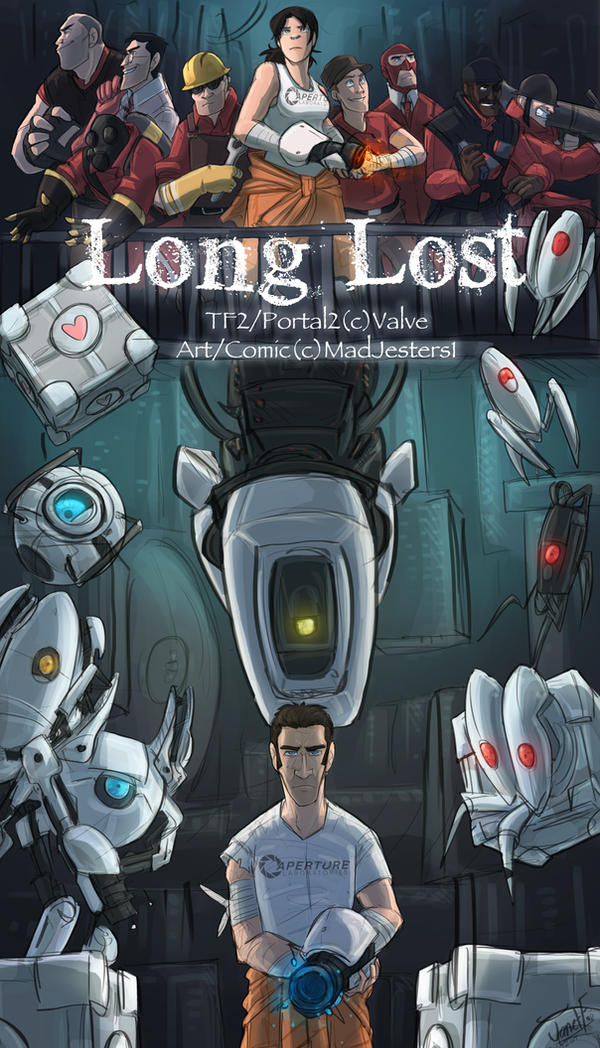 TF2-Long Lost Chapter 3 CoverPage by MadJesters1