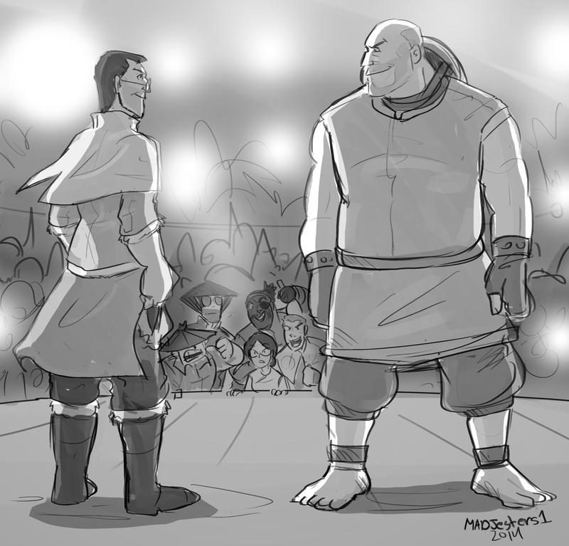 TF2-Avatar- Medic vs Heavy by MadJesters1
