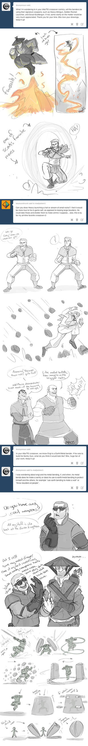 TF2-Avatar- ATTACK MOVES by MadJesters1