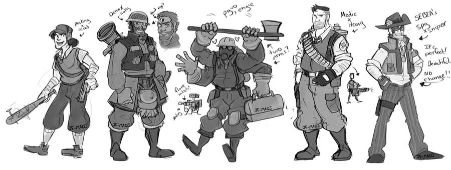 TF2 Fusions by MadJesters1 on DeviantArt