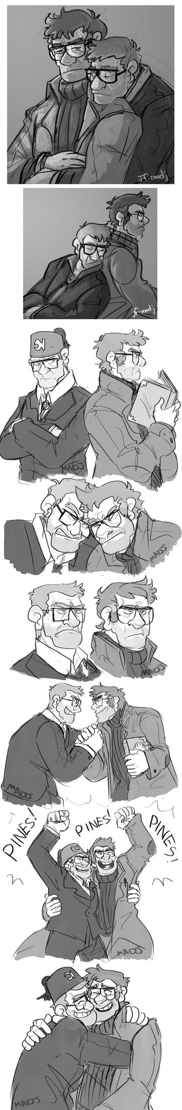 Gravity Falls- A tale of two Stans by MadJesters1