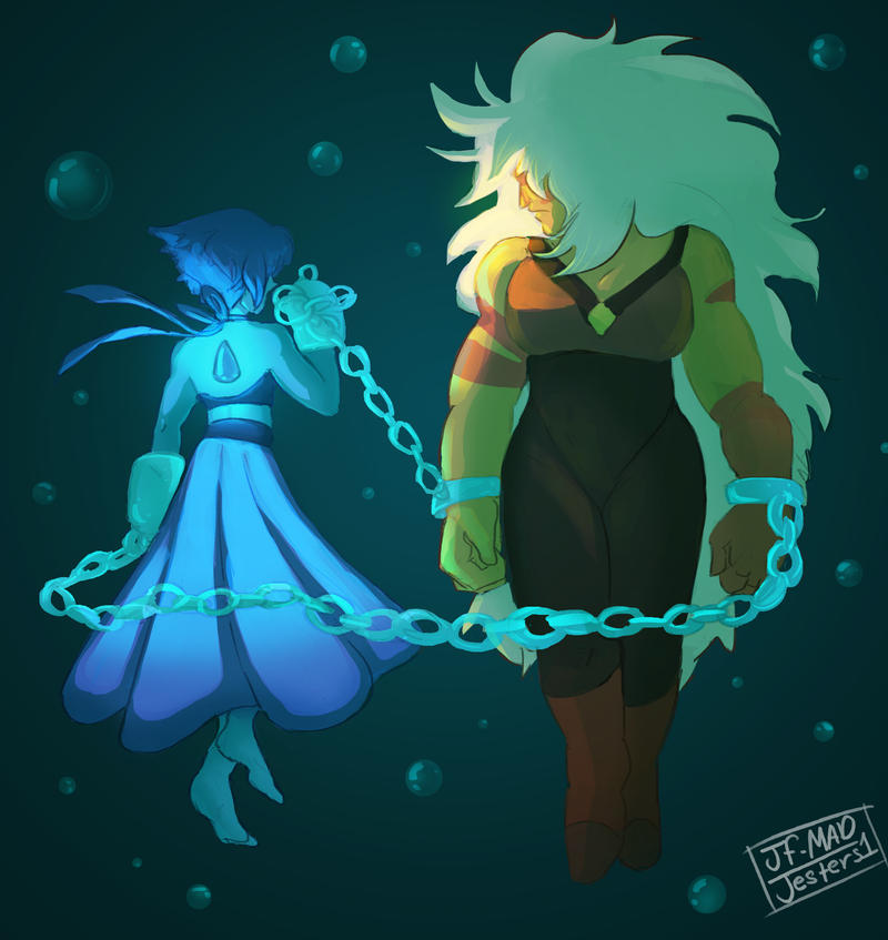 SU Lapis And Jasper By MadJesters1 On DeviantArt