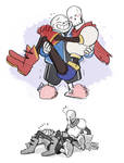 UT- Skelebro hug