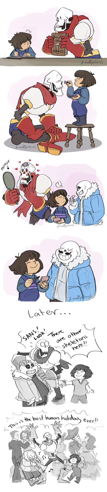 Undertale- Day of the Dead by MadJesters1