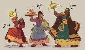 Litt, Luce and Foco