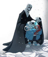 UT- Gaster's creation by MadJesters1