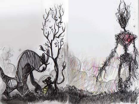 Litt- Some monsters