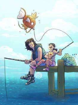 Pokemon Adventures -Fishing