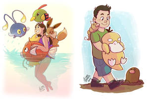 Young Pokemon Trainers