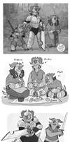 TrollHunter- Protea sketches