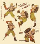 Junkrat Doodles