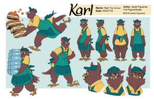 Karl the Grocer by MadJesters1