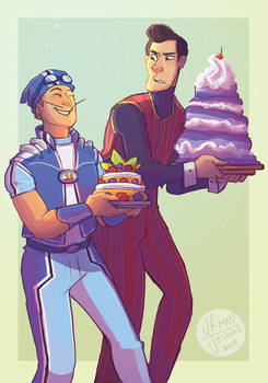 Lazy Town Zine- Cakes by MadJesters1
