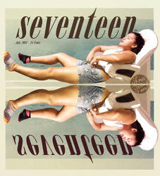 CipePineles- Seventeen Magazine Cover Poster by MadJesters1