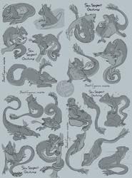 Litt- Sea fish serpent by MadJesters1