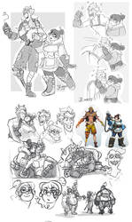 OW-Junkrat xMei by MadJesters1