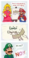 Nintendo-Luigi Dying