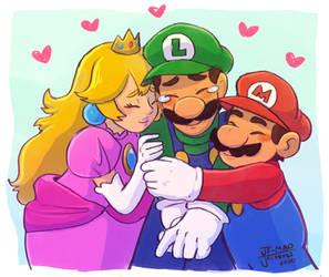 We Love you Luigi!!