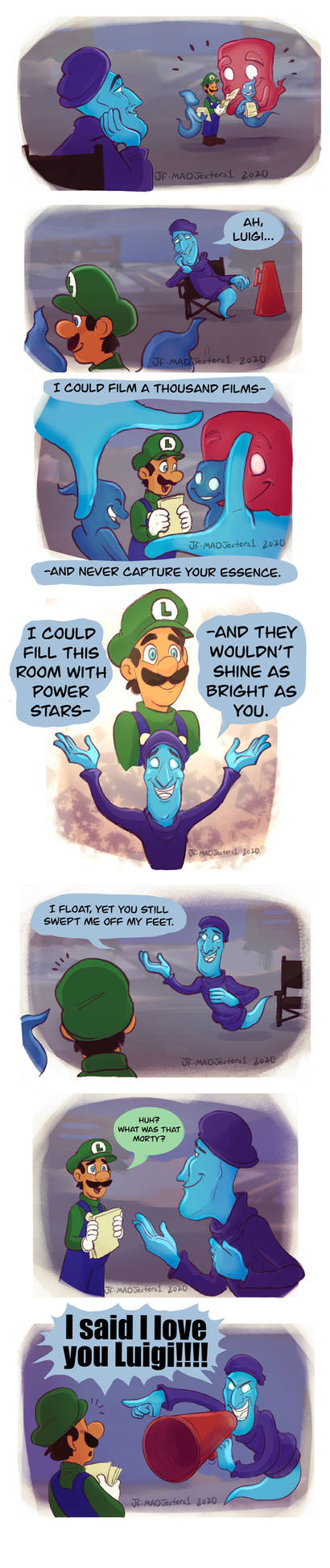 LM3-What words to use to describe Luigi
