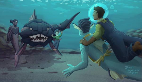 Ttoa- New fish friends