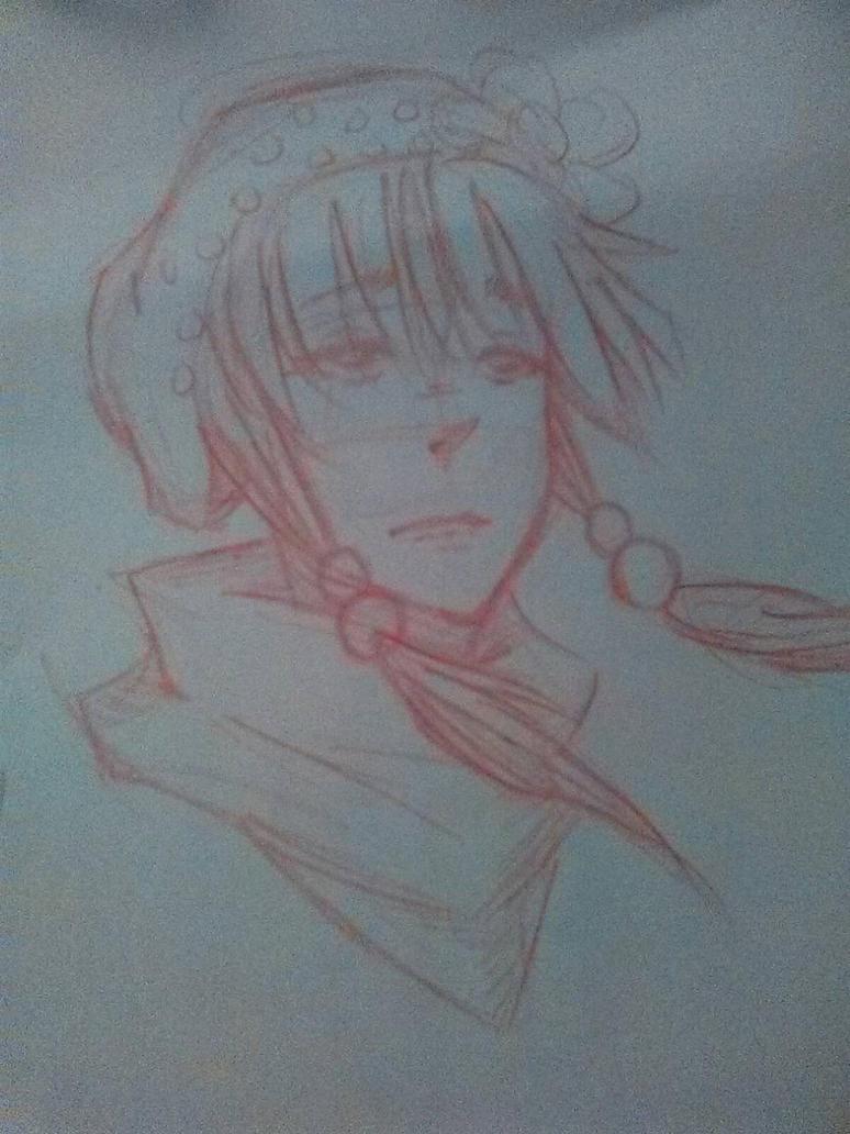 Just A Sketch!  by CartoonimeGirl