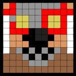 Howling Fang Anthro Pixel
