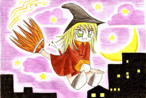 witch in town by dheeka