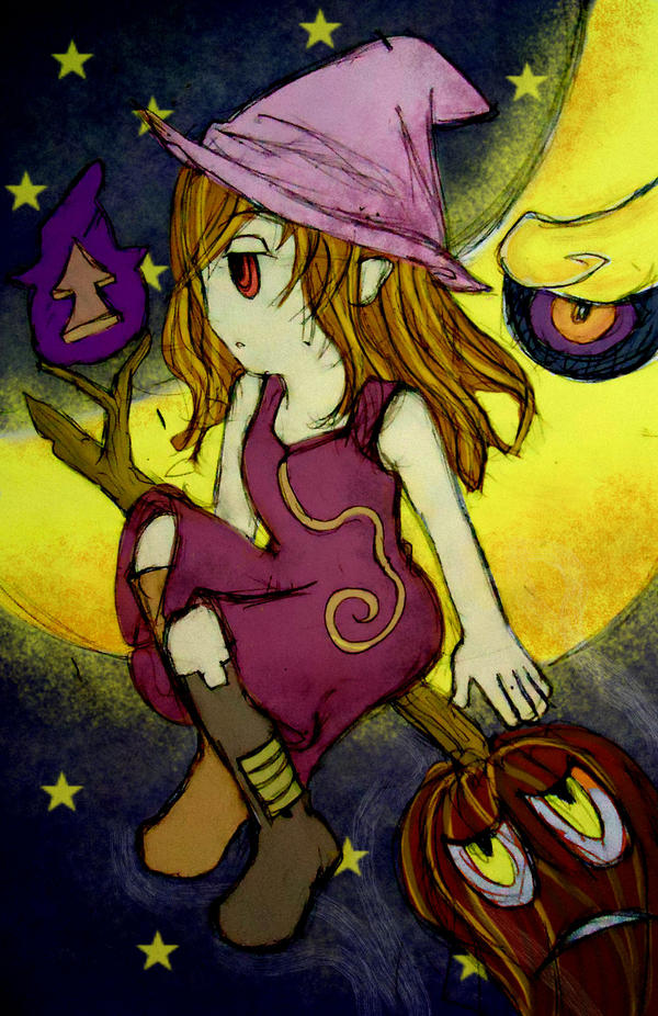 traveling witch..