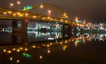 Fort Duquesne Bridge by StevenJP