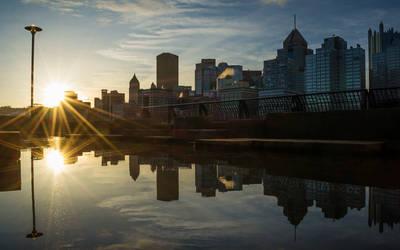 Pittsburgh Sunrise by StevenJP