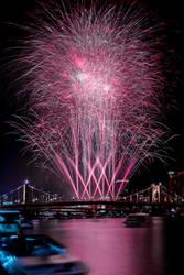 Long Exposure Fireworks - June 2015 by StevenJP