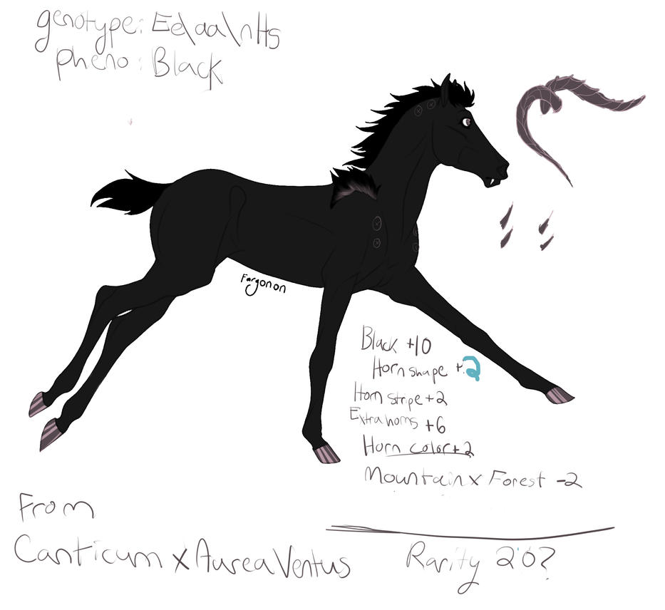 Foal Design by Sashafras
