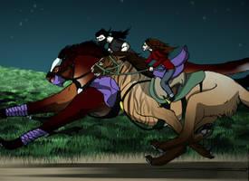 COLLAB: Night Duel! by Sashafras